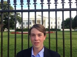 Ninth Grader Attends White House Science Fair